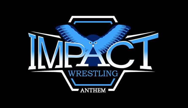Anthem TNA Impact Wrestling Logo - Credit: Anthem TNA Impact Wrestling via Wikimedia Commons Original Source: Source (WP:NFCC#4) www.impactwrestling.com