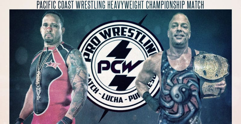 Rob Van Dam Returns at Pacific Coast Wrestling (Video) - RVD Vs MVP Photo Credit: Rob Van Dam/Pacific Coast Wrestling via Twitter