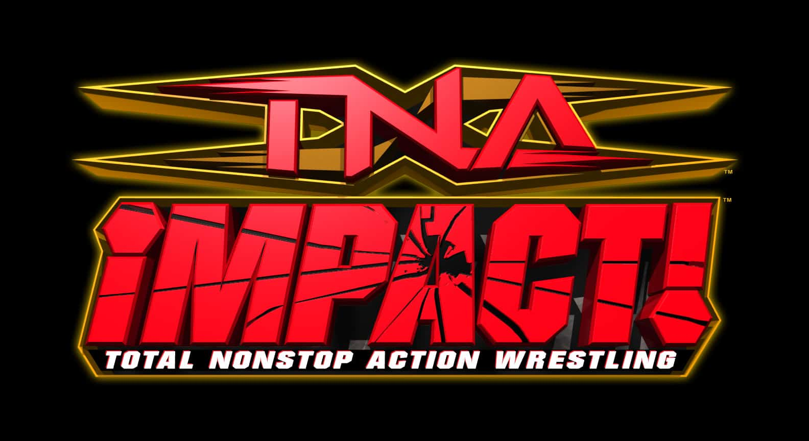 Impact Wrestling's Time Machine: TNA Originals to Make Impact Great - TNA Impact Wrestling Logo (Formerly Impact Ventures LLC now owned by Anthem)