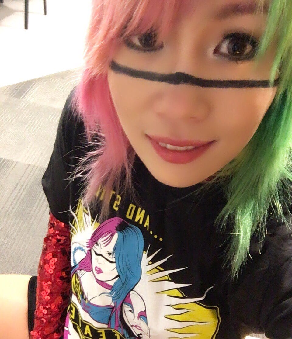 Asuka Photo Credit: Asuka's Twitter